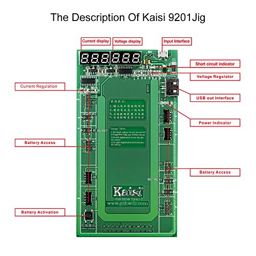 Kaisi Battery Tester Activator Charger